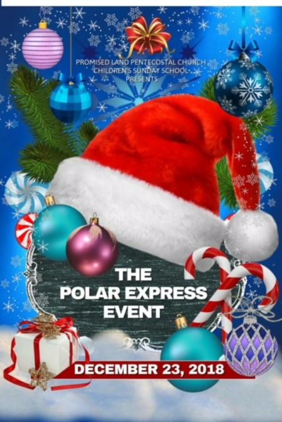 Youth Sunday School Polar Express
